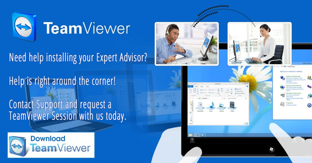 team viewer session