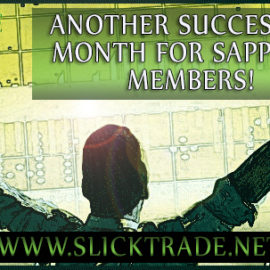 April 2019 – Another Successful Month For Slick Trade Academy Sapphire Members