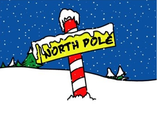 year end message north pole