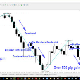 Price Action Candlestick Patterns #2 – The Marubozu